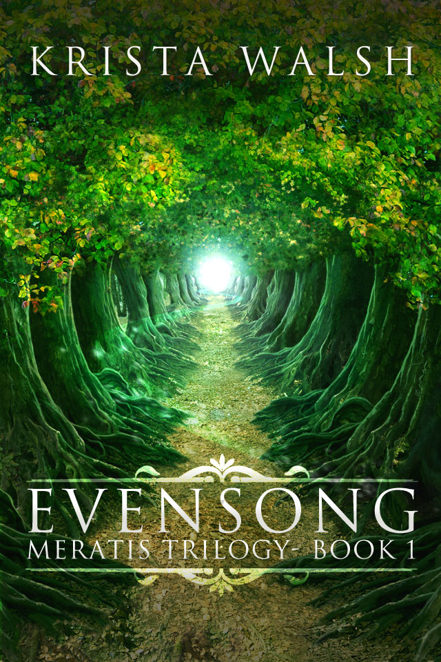 Cover for Evensong - Meratis Trilogy - Book 1