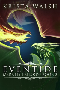 Cover for Eventide - Meratis Trilogy - Book 2