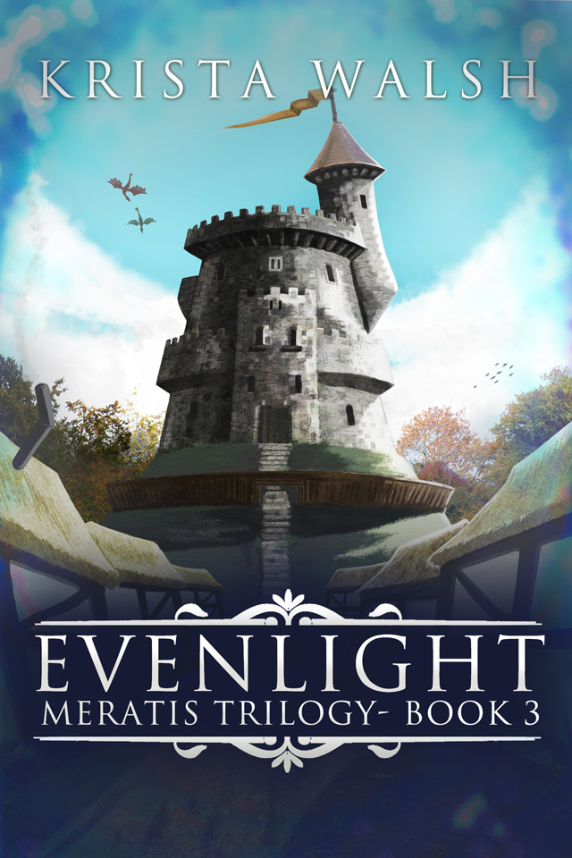 Cover for Evenlight - Meratis Trilogy - Book 3